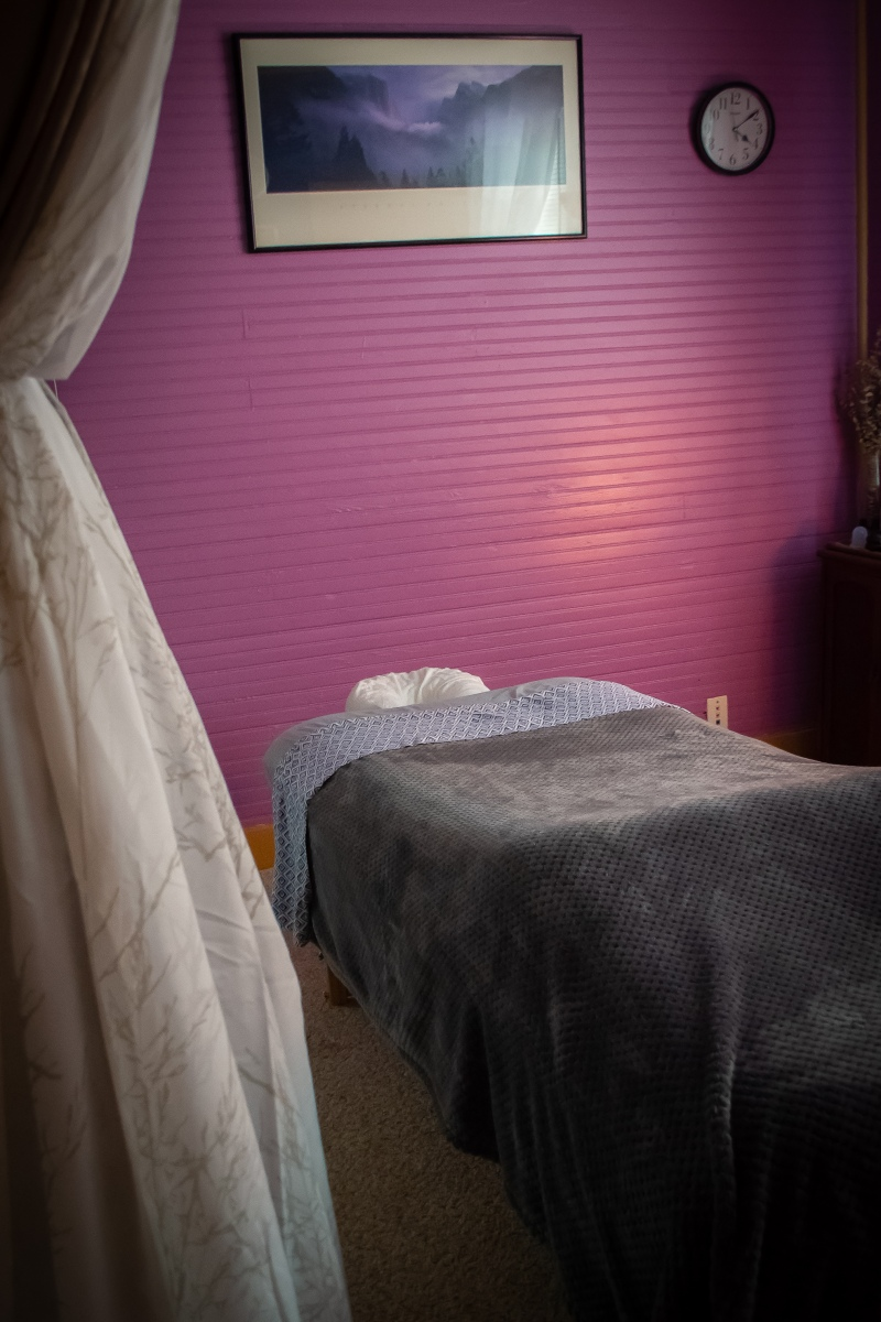 Location | Relaxed Atmosphere | Massage Treatment Room | Heaven Sent Massage of Ellijay | Relaxation and Therapeutic Massage Therapy | Ellijay Georgia GA 30540