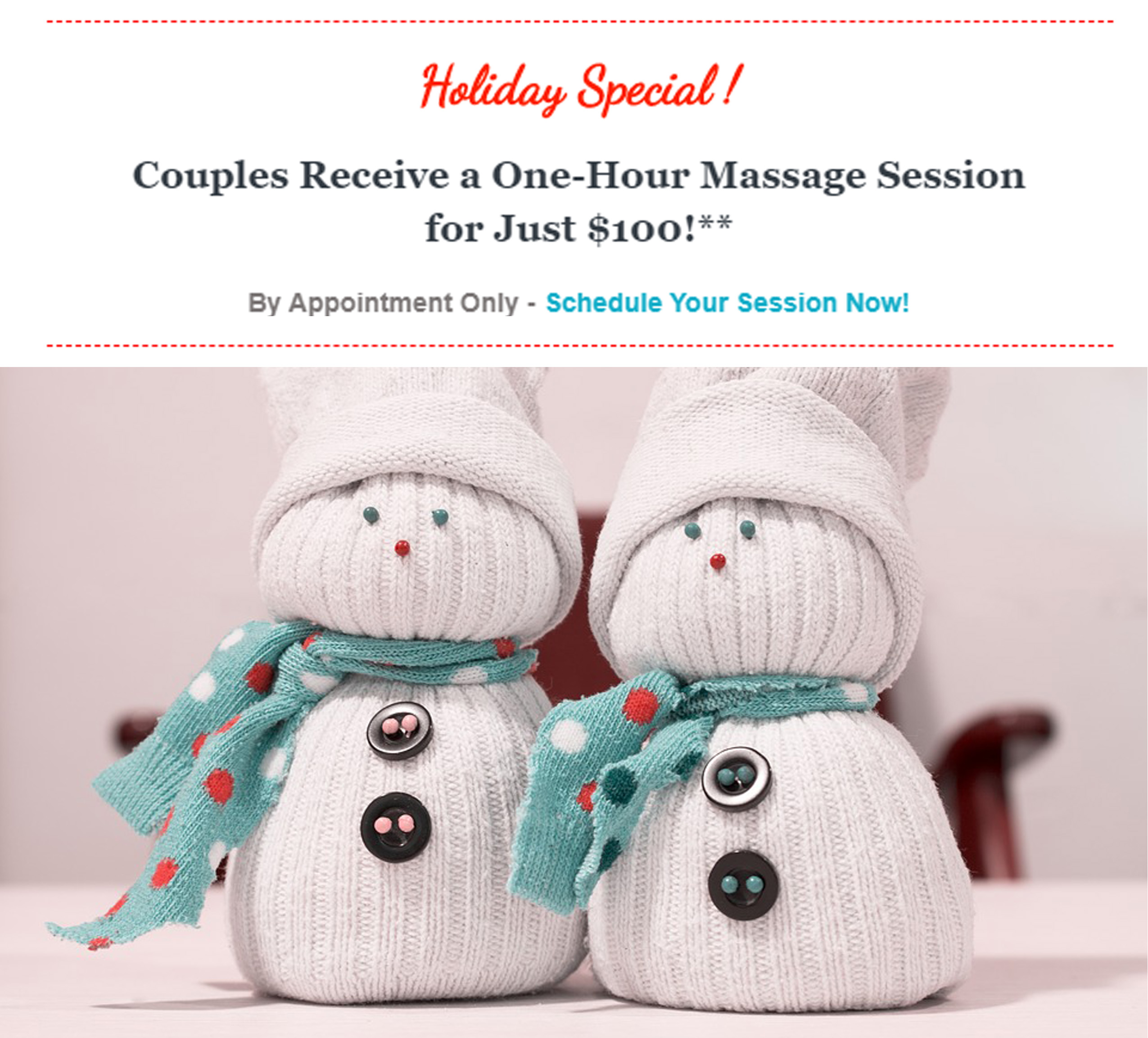 Holiday Special - Couples Massage | Massage Therapy | Heaven Sent Massage of Ellijay | Ellijay Georgia (GA) 30540