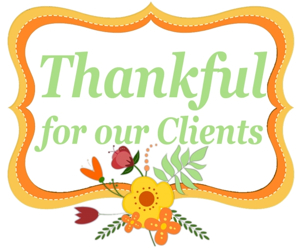 Client's Day | Thankful for our clients | Massage Therapy | Heaven Sent Massage of Ellijay | Ellijay Georgia (GA) 30540