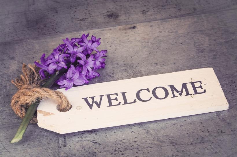 hyacinth welcome