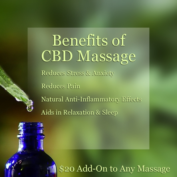 Benefits of CBD Massage | CBD Infused Massage |Heaven Sent Massage of Ellijay | Massage Therapy | Ellijay, GA