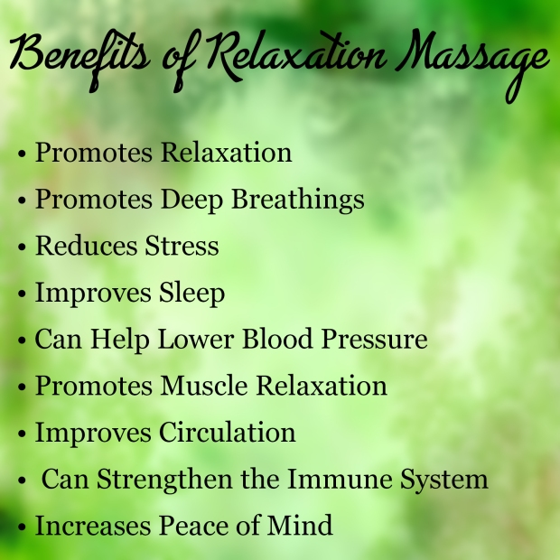 Benefits of Relaxation Massage | Massage Therapy | Heaven Sent Massage of Ellijay | Ellijay Georgia (GA) 30540