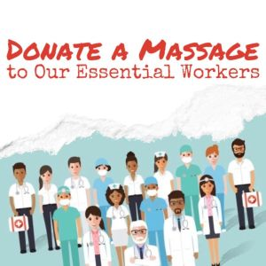 Donate a Massage to Our Essential Workers